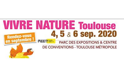 Salon Vivre Nature à Toulouse le 4 septembre 2020