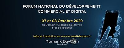 Conférence au Numerik Devcom le 7 octobre 2020